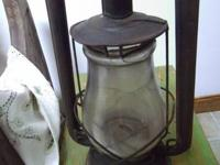 Antique Hibbard Spencer Bartlett Lantern late 1800's
