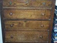This is as antique as it gets! It has dovetail drawers,