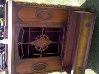 Cute antique hutch built in the 1930's. Its 16 inches