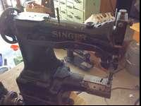 Up for sale is an Industrial Singer Sewing Machine