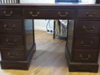 "For sale - Antique Desk - stamped in drawer ""Jamestown"