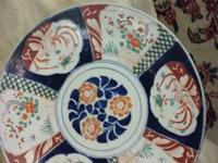 Large Eastern Meiji Imari Porcelain Battery charger
