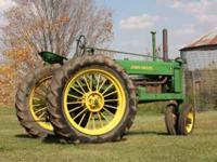 At Auction. 1937 John Deere B. Serial #33754. Check web