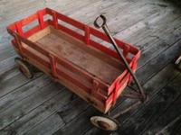 I purchased this truly old wagon in Shipshewana about