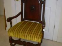 This stunning antique Kings Chair is extremely sturdy