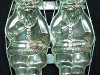 This is a double Santa Chocolate or Ice Cream Mold made