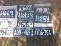 Antique license plates for Sale $20.00 a pair For more