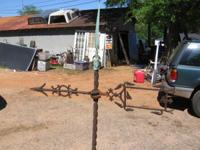 ANTIQUE LIGTHING / WEATHER VANE. 165.00 OBO. We have