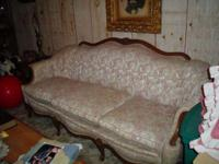 Antique Living Room - Couch w/matching Chair. Great
