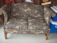 This posting is for a reupholstered loveseat $100.