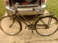 antique bicycle, raleigh colt, made in notingham