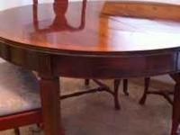 I am selling my grandmother's antique table. It's a