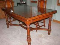 ANTIQUE MAPLE TUDOR REFECTORY JACOBEAN DINING TABLE