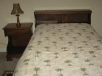 Antique Maple Twin Bedroom Set. Includes headboard,