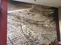 2 Pacific Palisades Maps for sale (Mounted on Walls