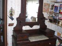 Settling estate. Right here is a good old dresser from