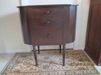 COST REDUCED! Lovely Martha Washington Sewing Stand in