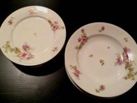 Asking $150.00 for this set of Limoges Plates and