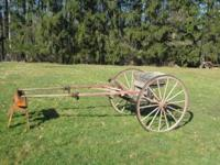 Antique Meadowbrook 2 wheel Horsedrawn Cart, good