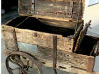 Mining Cart found in barn, 1800's, all original in