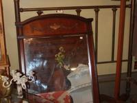 Large Antique Mirror, would work great on a dresser or
