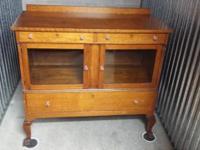 **Price Lowered!** Beautiful Antique Oak Buffet /