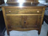 Antique Wash Stand With Towel Bar Classifieds Buy Sell Antique