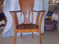 This chair is a chair from the late 1800's. It was made
