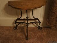 Up for sale is this antique occasional table,