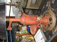Antique oil pump mfg. by Gilben pump co . Erie ., Pa.