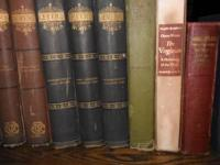 Several OLD Books, from 1880 and early 1900 very