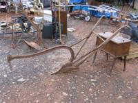 "WONDERFUL !! ANTIQUE ""OLIVER"" PLOW. 130.00. We have"