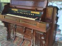 Antique pump organs 1800 circa- excellent condition-