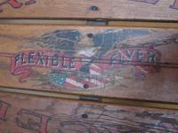 Antique Original Flexible Flyer Sled. This Flexible