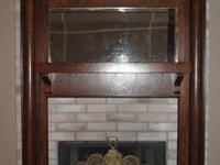 Stunning Antique Oak Mantel from late 1800s or early