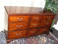 Antique Victorian Dresser with Ornate Detailing, Carved