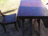 I HAVE AN OLD PHYFE TABLE WITH 6 LEGS AND ORGINAL FEET