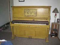 Piano for sale. I bought it 6 months ago and never had
