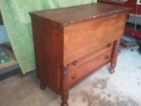 Antique Pine Blanket Chest from about the 1850's. In