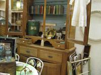 Gorgeous Antique Pine Cupboard! It has plenty of
