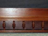 Antique Plate Shelf; from a buffet/hutch; could view