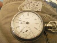 Interested in antique time pieces? I have a 1902 pocket