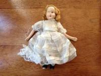 Antique Porcelain Doll - Fair Condition. See pictures
