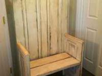 Just built 2 door benches , verry cute and only $140