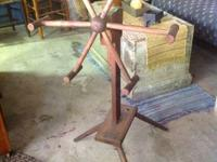 Very Nice Antique Primitive Yarn Winder Good condition