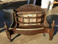 Antique Radiant Heater with ceramic front Manufactured