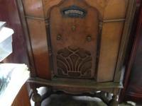 Antique Radio. jobs, however requires filter