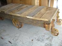 I have 2 railroad carts left. Perfect for that