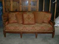 Like new antique replica sofa.. this piece would be a