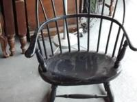 This Old Style Rocker Is In Need Of Some True TLC -